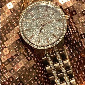 Michael Kors ROSE GOLD WATCH DIAMOND FACE